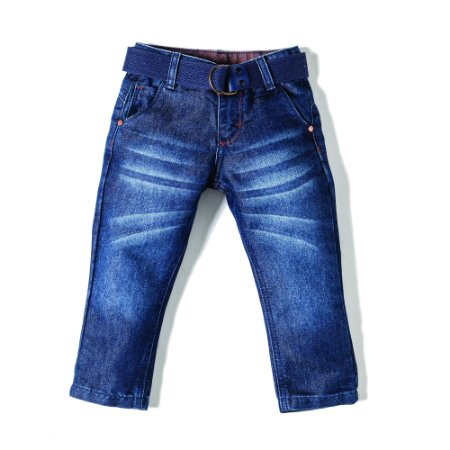 Calça Masculina Jeans Orange Boy