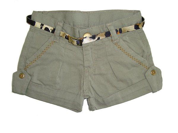 Shorts Sarja Militar Girl
