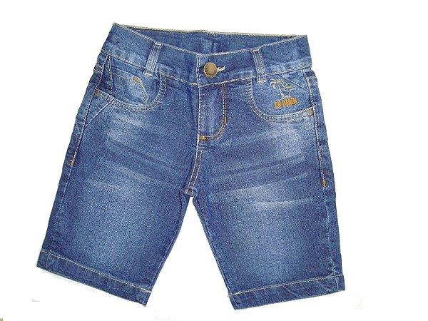 Bermuda Jeans Coqueiro