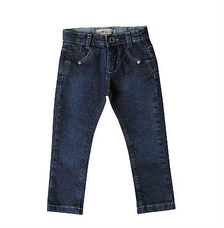 Calça Skinny Jeans Verde