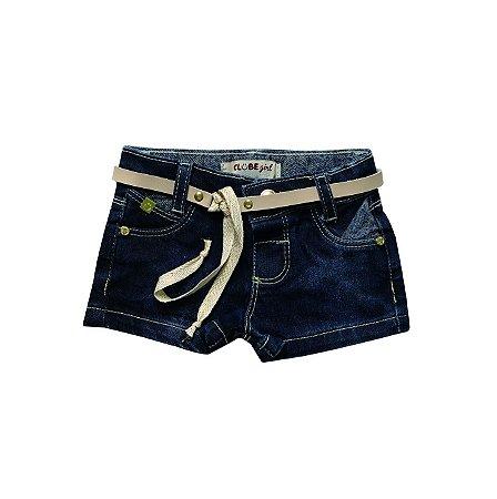 Short Slim Jeans Lacinho