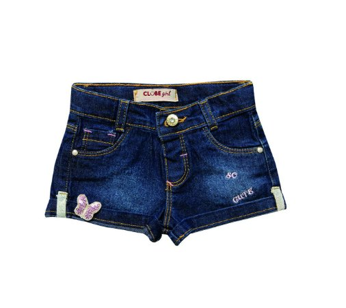 Shorts Regular Jeans Butterfly