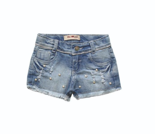 Shorts Regular Jeans Lurex