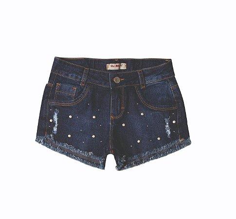 Shorts Slim Jeans Luz