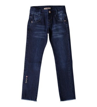 Calça Fem. Regular Jeans Lovely