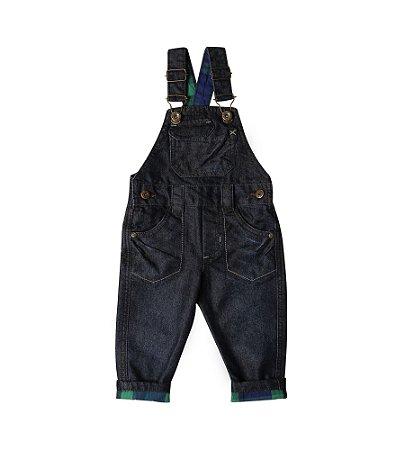 Jardineira Masc. Jeans Green