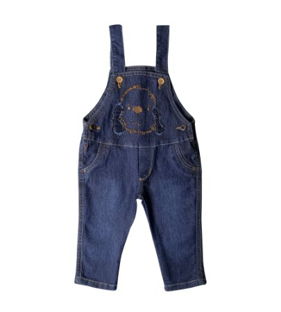 Jardineira Masc. Jeans Dog