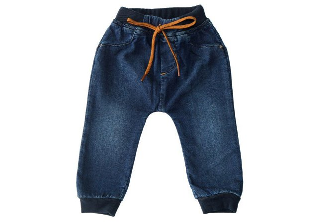 Calça masculina bebê jeans jogger urso p ao g clube do doce