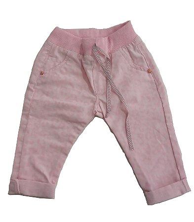 Calça feminina bebê sarja camuflado p ao g clube do doce