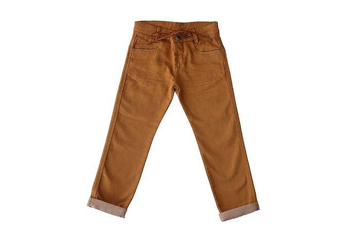 Calça masculina infantil slim collors 4 ao 8 clube do doce