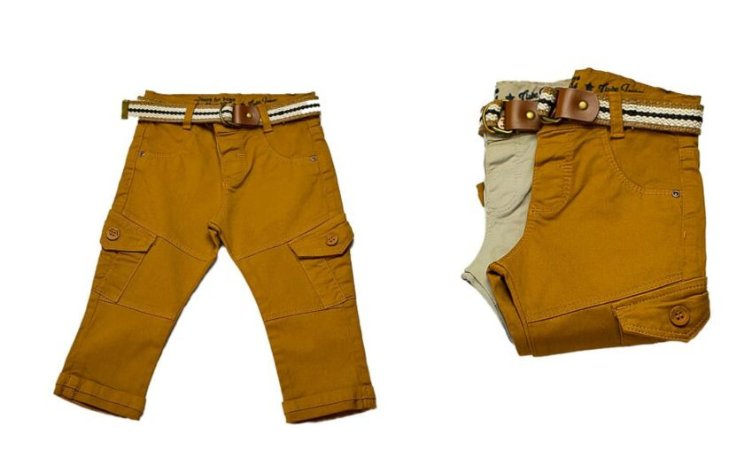 Calça masculina slim p ao g sarja bolsos clube do doce