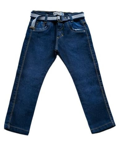 Calça masculina infantil jeans skinny juan 1 ao 3 clube do doce