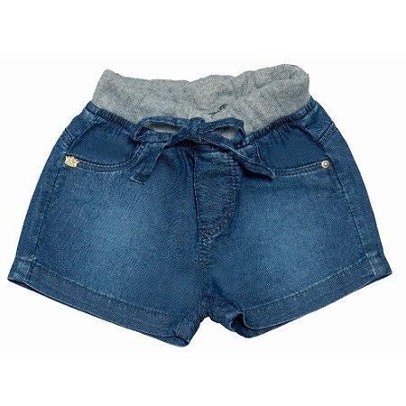 Shorts Jeans Clube do Doce Coroa - Verão 2021
