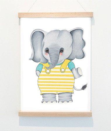 Pôster A3, Olaf o pequeno elefante