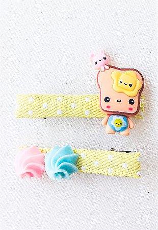 Dupla de Presilhas Candy