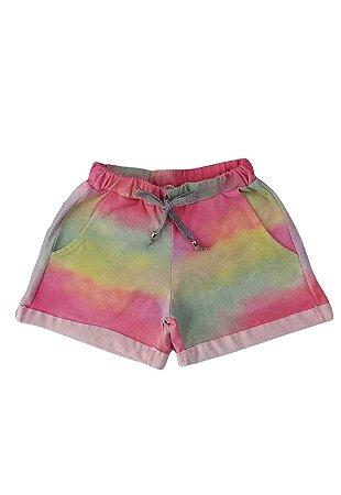 Shorts Moletim Tie Dye