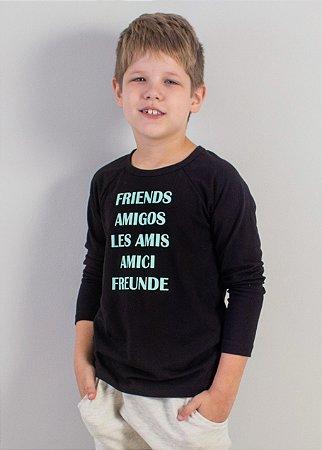 Camiseta Raglan Friends