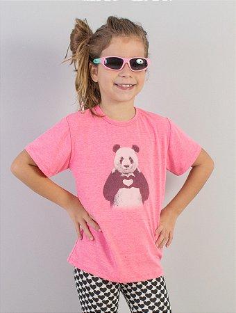 Camiseta Panda Pink