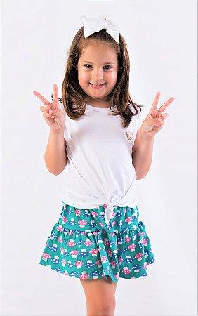 Short-Saia Cogumelo