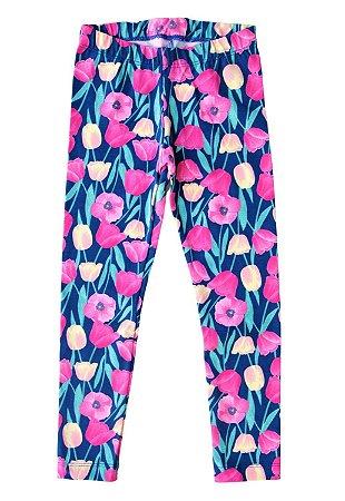 Calça Legging Flores