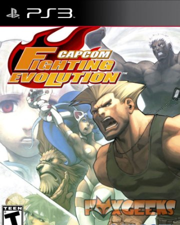 Capcom Fighting Evolution (CLÁSSICO PS2) [PS3]