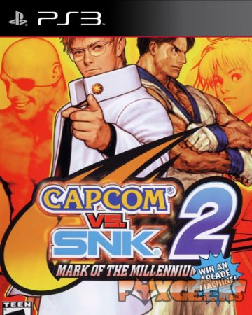 Capcom vs SNK 2: Mark of the Millennium 2001(CLÁSSICO PS2) [PS3]