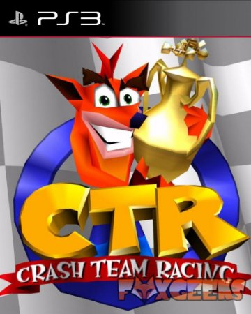Crash Team Racing CTR (Clássico PSOne) [PS3]