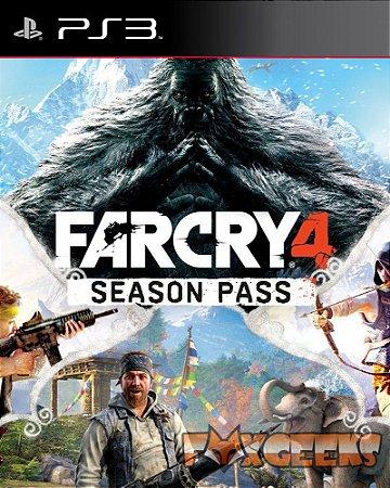 Far Cry 4 - Passe da Temporada (DLC) [PS3]