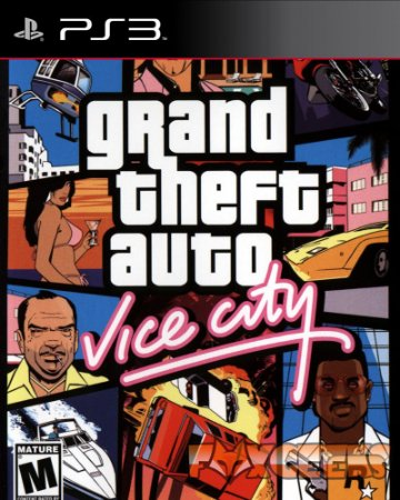 GTA Vice City (CLÁSSICO PS2) [PS3]
