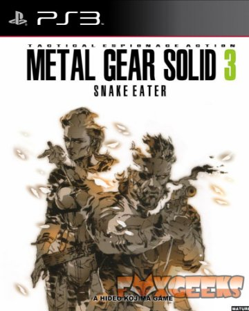 Metal Gear Solid 3: Snake Eater [PS3]