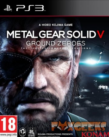 Metal Gear Solid V: Ground Zeroes [PS3]