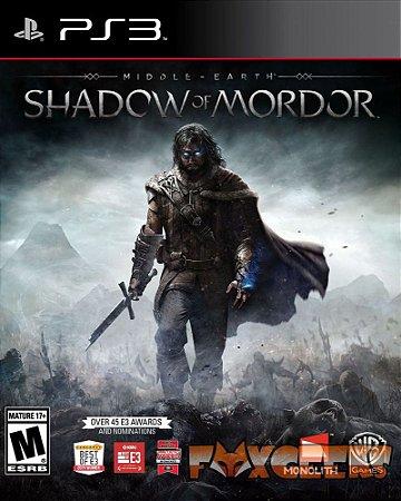 Terra-Média: Sombras de Mordor - Português [PS3]