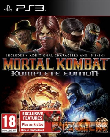 Mortal Kombat Komplete Edition [PS3]