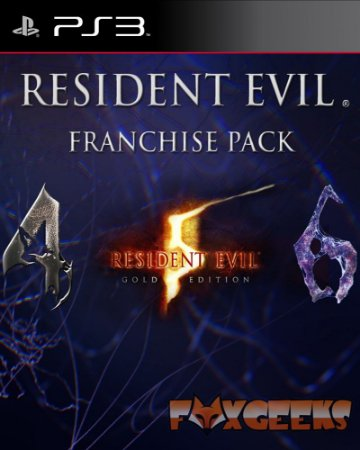 Resident Evil Franchise Pack [PS3]