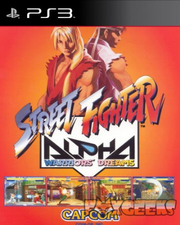 Street Fighter Alpha (CLÁSSICO PSONE) [PS3]