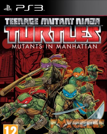 Tartarugas Ninja: Mutantes em Manhattan [PS3]