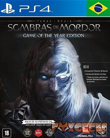 Terra-Média: Sombras de Mordor Edição Jogo do Ano - Português [PS4]