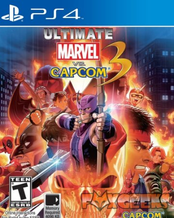 Ultimate Marvel vs Capcom 3 [PS4]