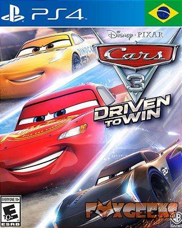 Carros 3: Correndo para Vencer [PS4]