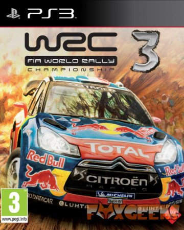 WRC 3 FIA World Rally Championship [PS3]