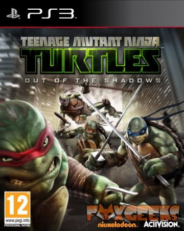 Tartarugas Ninja: Out of Shadows [PS3]