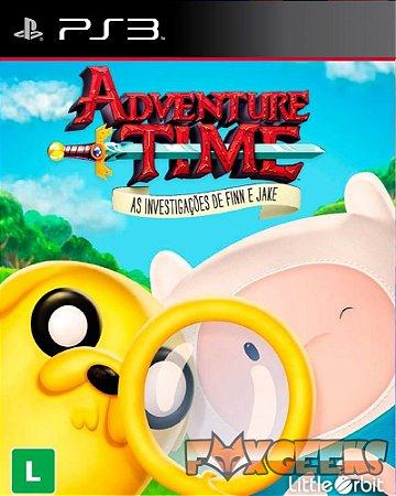 Adventure Time as Investivações de Finn e Jake [PS3]