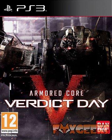 ARMORED CORE VERDICT DAY [PS3]