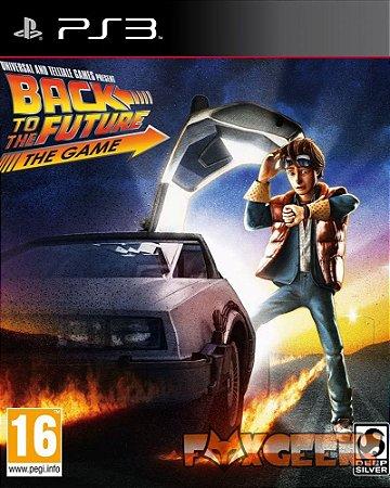 BACK TO THE FUTURE THE GAME / DE VOLTA PARA FUTURO - FULL SERIES [PS3]