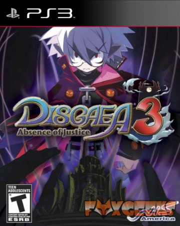 DISGAEA 3 ABSENCE OF JUSTICE [PS3]