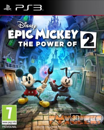 DISNEY EPIC MICKEY 2 THE POWER OF TWO [PS3]