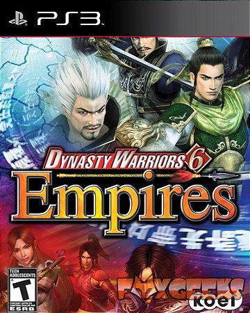 DYNASTY WARRIORS 6 EMPIRES [PS3]