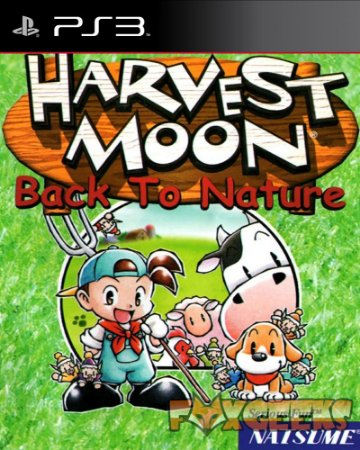 HARVEST MOON BACK TO NATURE (CLÁSSICO PSONE) [PS3]