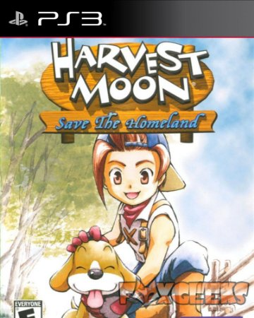 HARVEST MOON SAVE THE HOMELAND (PS2 CLASSIC) [PS3]