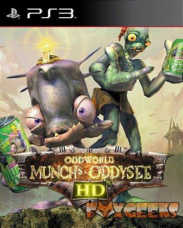 ODDWORLD MUNCHS ODDYSEE HD [PS3]